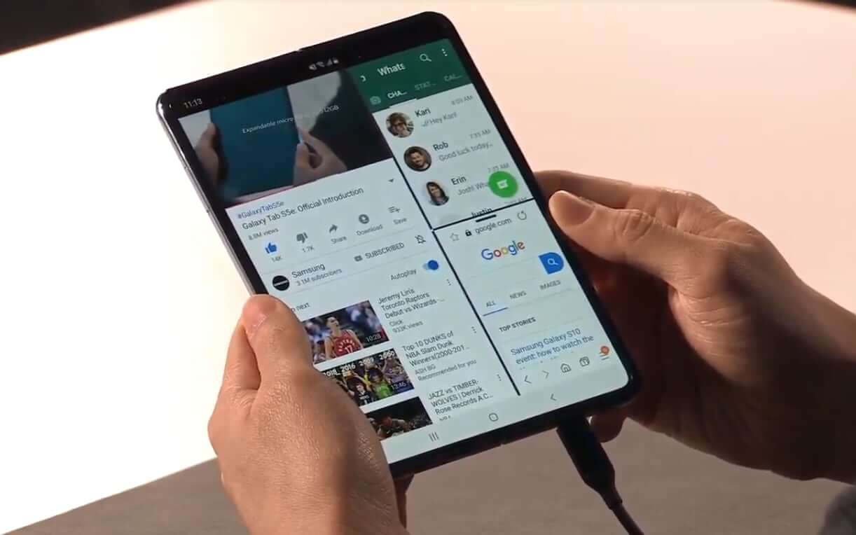 Samsung Finally Unveils Its Foldable Phone, The Galaxy Fold