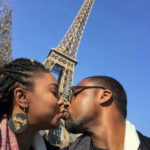 Stella Damasus And Her Husband, Daniel Ademinokan On Vacation In City Of Love (Photos)