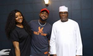 Atiku Abubakar Sparks Controversy After Declaring Davido King In Nigerian Music
