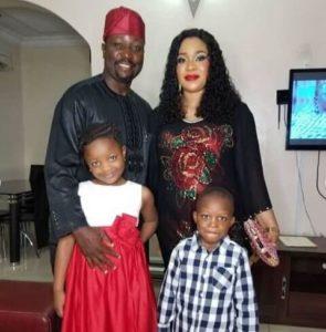 Mosun Filani, husband and kids