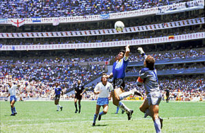 Diego Maradona - Hand of God