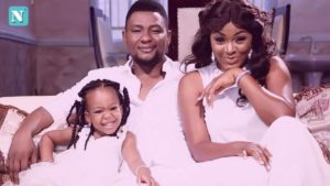 Chacha Eke, husband and daughter