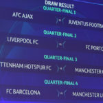 Check Out The Champions League Quater-Finals & Semi-Final Draws