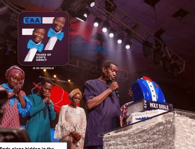 See Photos As Pastor E.A Adeboye Celebrates 77th Birthday