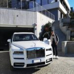 Cristiano Ronaldo Flaunts His New Ride, Rolls Royce Cullinan