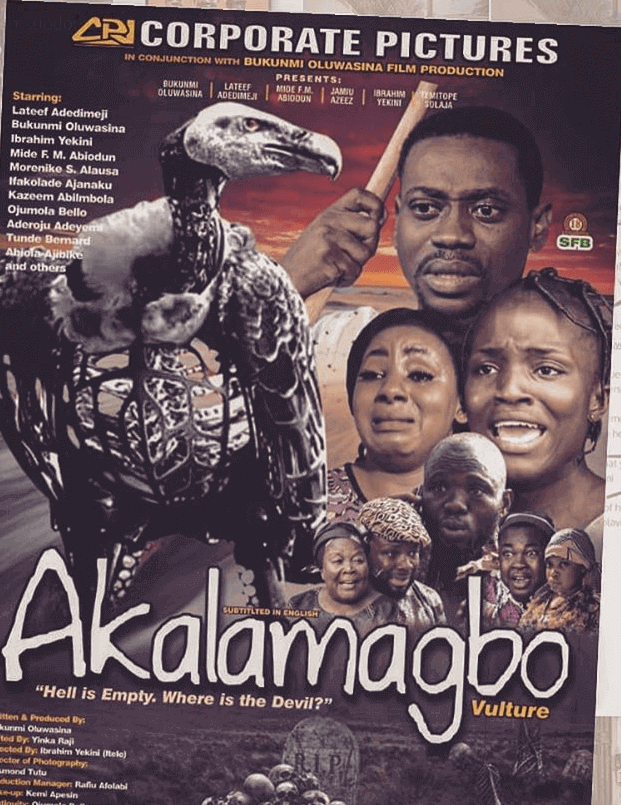 "Bukunmi Oluwasina Finally Drops Her Movie ""Akalamagbo"" | WATCH"