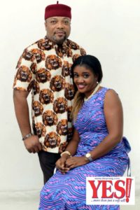 Arinze Okonkwo and wife