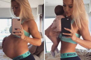 Tammy Hembrow before and after pregnancy pictures