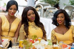 Yvonne Okoro and her sisters