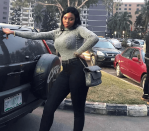 Meet Yvonne Rofem - The Self Acclaimed Tallest Girl In Nigeria