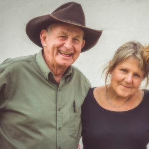 Angus Buchan and his wife