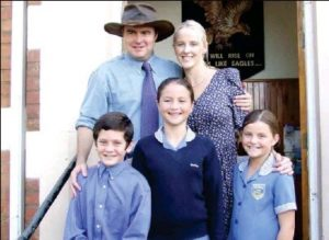 Angus Buchan and family