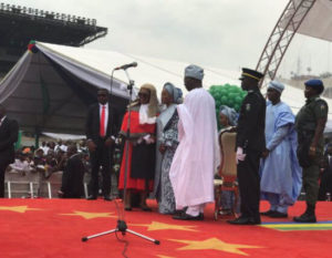 Babajide Sanwo-olu sworn in ceremony photos