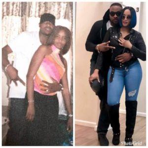 Blanle Ninalowo and wife, Bukunmi
