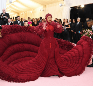 Cardi B outfit to the met gala picture