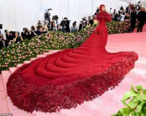 Cardi B outfit to the Met Gala - photos