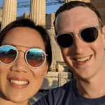 Mark Zuckerberg and wife