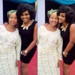 Mercy Aigbe and her mum pictured together