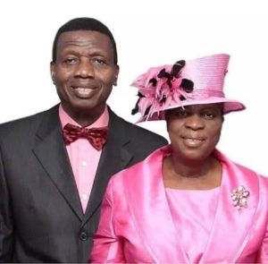 Pastor Adeboye and his wife