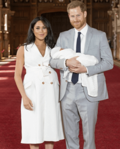 Prince Harry and Meghan Markle first child