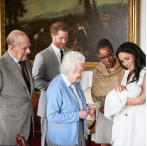 Prince Harry and Meghan markle child photo