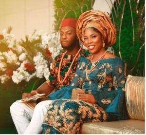Tiwa Savage look alike wedding