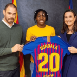 Asisat signs for Barcelona