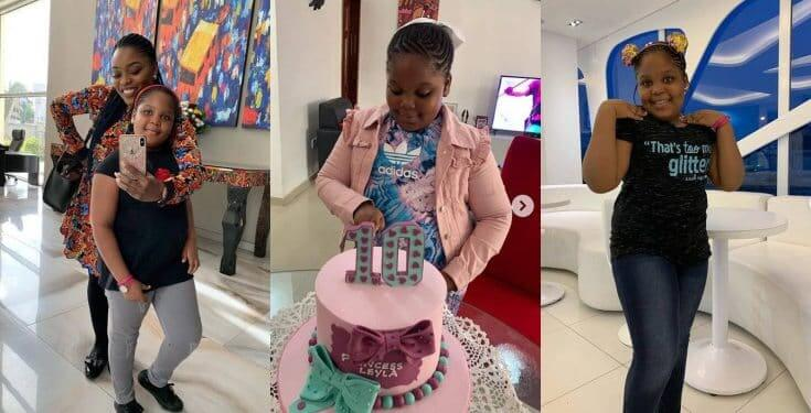 Bisola celebrates daughter on 10th birthday