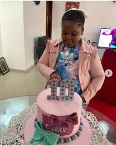 Bisola celebrate daughter on 10th birthday