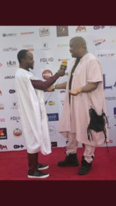 Don Jazzy Agbada outfit