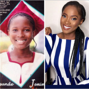 Jemima Osunde Before and after pictures