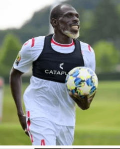 27 Year Old Kenyan Footballer, Joash Onyango Photos Trends Online