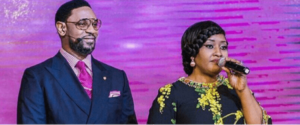 Modele Fatoyinbo defends her husband