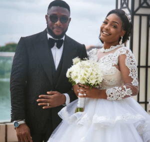 Tchidi Chikere And Wife Celebrates Firts Wedding Anniversary
