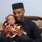 Lovely Photos From Kalu Ikeagwu & Wife Ijeoma's Son's Dedication