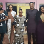 Adesua Etomi-Wellington Steps Out With Her Growing Baby Bump For Toolz Birthday