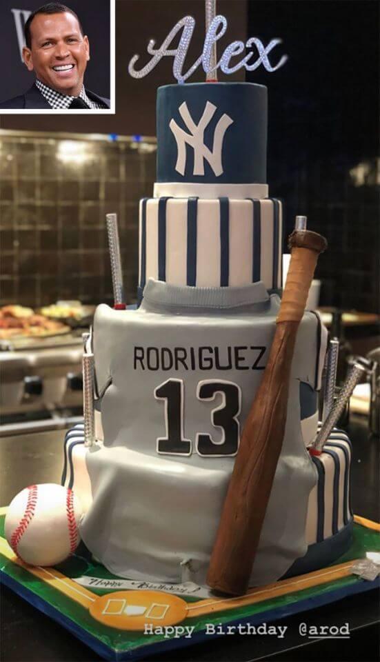 Alex Rodriguez Celebrates 44th Birthday With Fiancee, Jennifer Lopez