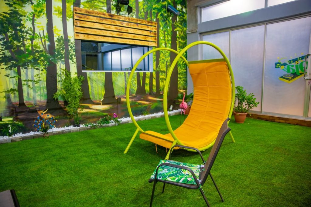 BBNaija Pepper Dem House - Garden1