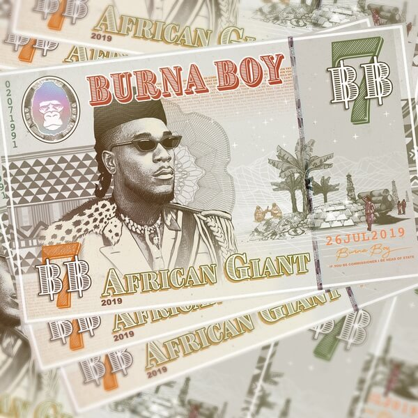 Burna Boy - African Giant Album DOWNLOAD ZIP