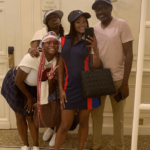 Femi Otedola and daughters vacation in Monaco