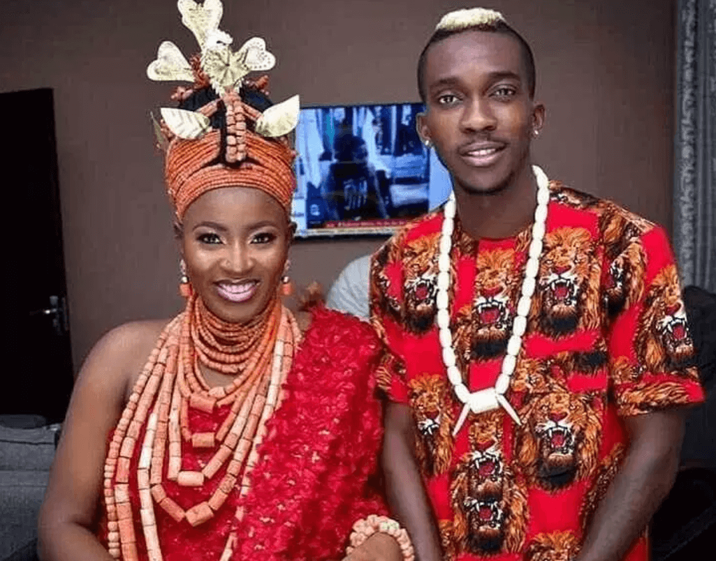 First Photos From Super Eagles Star, Henry Onyekuru Wedding