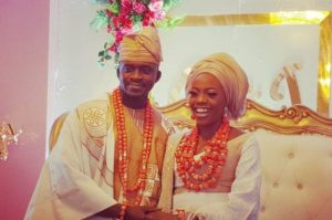 Shade Ladipo wedding photo