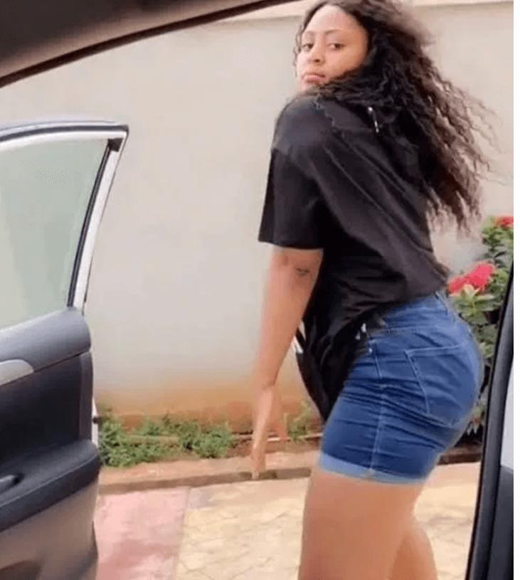Regina Daniels dances Soapy by Naira Marley