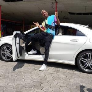 Nigerian Singer, Soft Acquires New Mercedez Benz