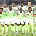 Nigeria Staring line-up against Algeria