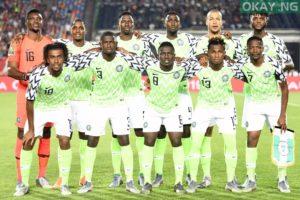 Nigeria Staring line-up against Algeria