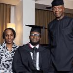 Yemi Osinbajo's Son Graduates from UK University (See Photos)