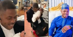 Yinka Ayefele welcomes triplets with wife