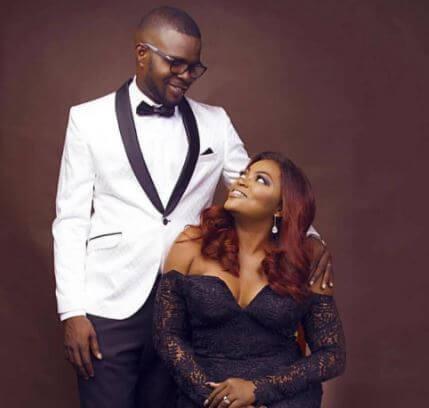 Funke Akindele and husband thrid wedding anniversary (photos, video)