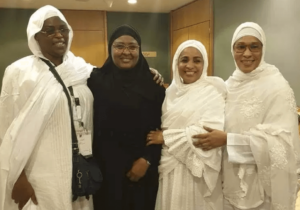 Aisha Buhari pictured with first ladies of other African countries